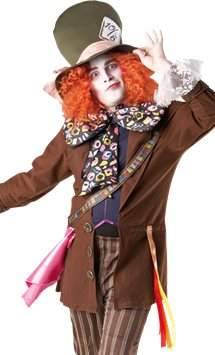 Disney Mad Hatter - Adult Costume