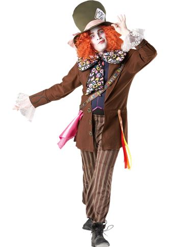 Disney Mad Hatter - Adult Costume front