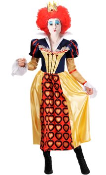 Disney Red Queen of Hearts- Adult Costume