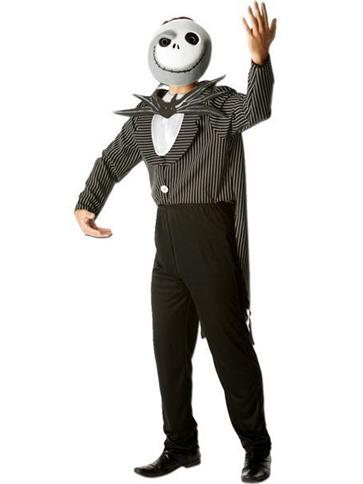 Nightmare Before Christmas Jack Skellington - Adult Costume front