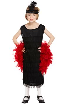 Black Flapper Dress - Child Costume