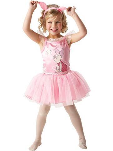 Piglet Ballerina Child Costume Party Delights