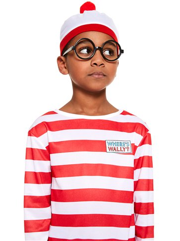 Where's Wally - Child and Teen Costume back