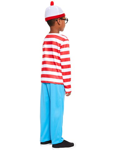 Where's Wally - Child and Teen Costume left
