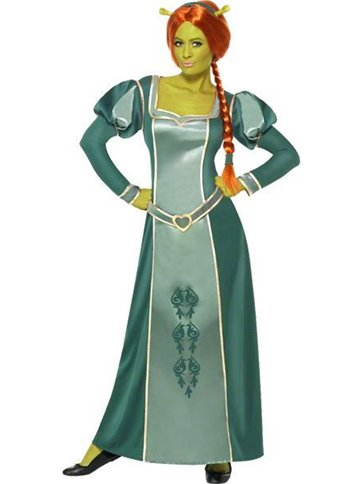 Shrek Princess Fiona Adult Costume Party Delights