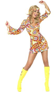 1960s Hippie - Adult Costume