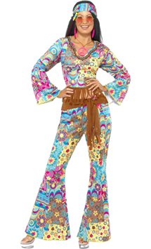 Hippie Flower Power - Adult Costume