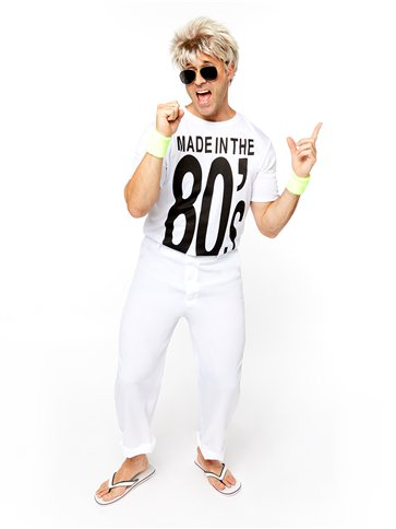 Made in the 80's - Adult Costume front