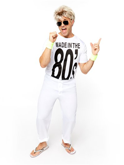 Made in the 80's - Adult Costume