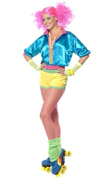 80's Skater Girl - Adult Costume