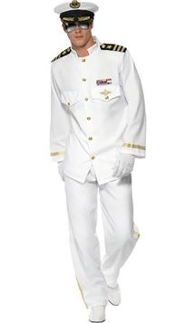 Captain Deluxe - Adult Costume