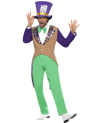 Mad Hatter - Adult Costume front