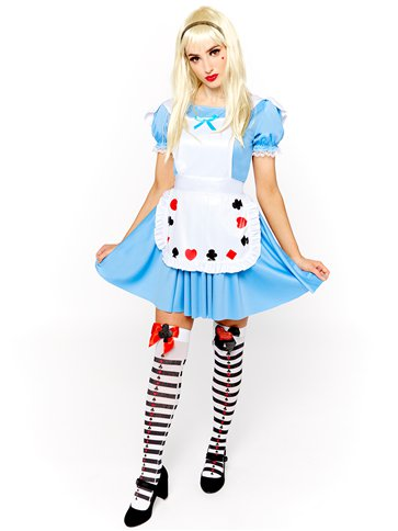 Deck of Cards Girl - Adult Costume front