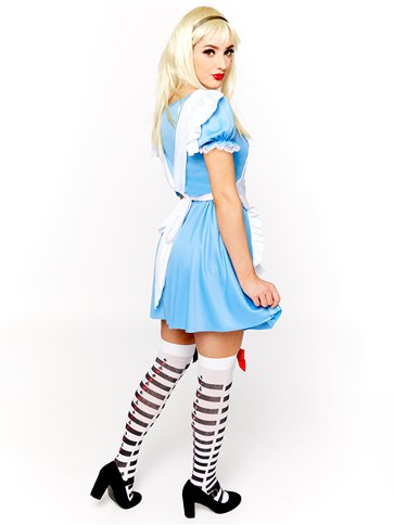 Deck of Cards Girl - Adult Costume left