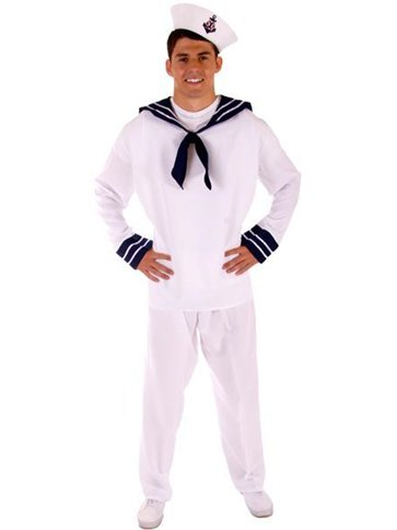 Sailor Male - Adult Costume front