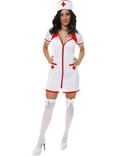 Sexy Nurse  sc 1 st  Party Delights & Doctors and Nurses Fancy Dress | Party Delights
