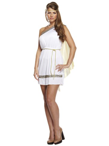 Roman Woman - Adult Costume front