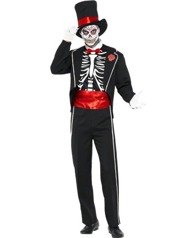 Day of The Dead - Adult Costume front