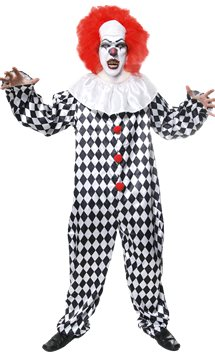Scary Clown - Adult Costume