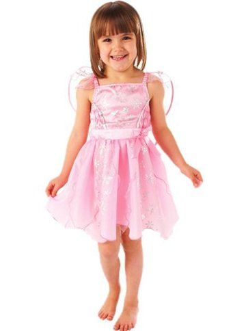 Angel Snowflake Pink - Child Costume front