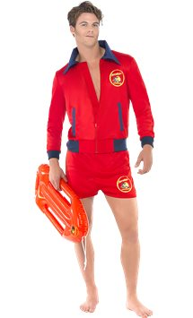 Baywatch Lifeguard - Adult Costume