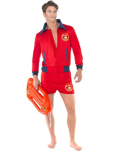 Baywatch Lifeguard - Adult Costume front