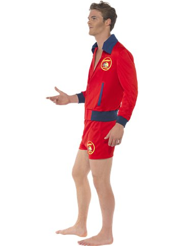 Baywatch Lifeguard - Adult Costume left