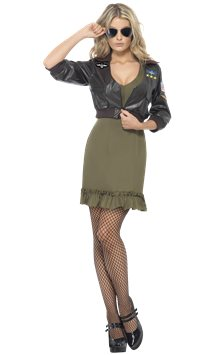 Sexy Top Gun - Adult Costume