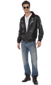 Top Gun Bomber - Adult Costume