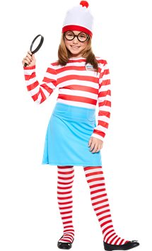 Where's Wenda - Child Costume