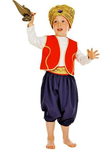 Aladdin - Child Costume front
