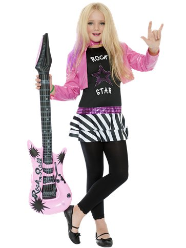 Rockstar Glam - Child Costume front