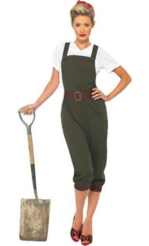 WW2 Land Girl - Adult Costume