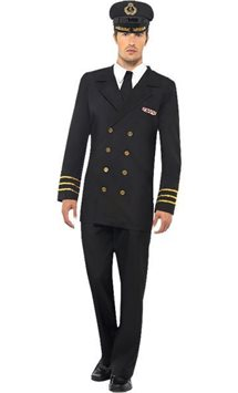 Navy Officer Man - Adult Costume