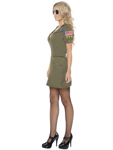 Sexy Top Gun Dress - Adult Costume left