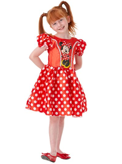 Minnie Mouse Red Classic - Child Costume