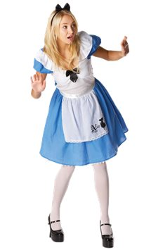 Disney Alice in Wonderland - Adult Costume