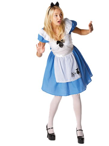 Disney Alice in Wonderland - Adult Costume front