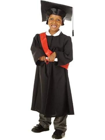 Graduation Gown - Child Costume front