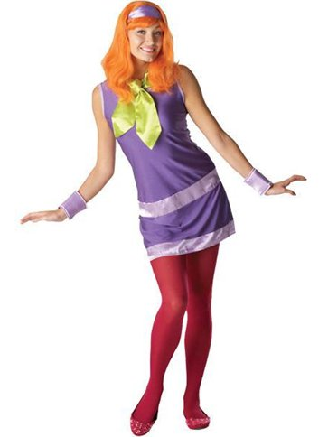 Scooby Doo's Daphne - Adult Costume front