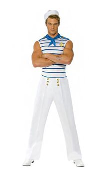 French Sailor - Adult Costume