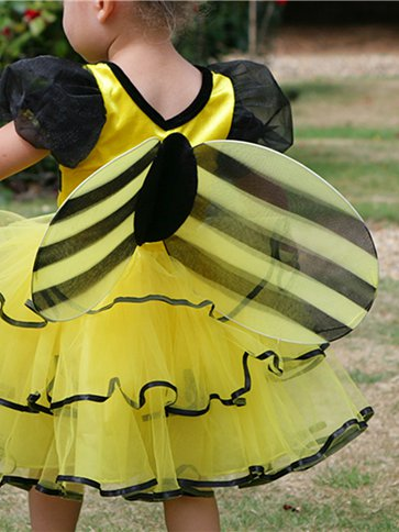 Bumble Bee - Baby Costume back