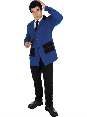 Teddy Boy Blue - Adult Costume front