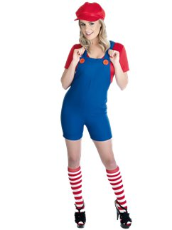 Sexy Plumbers Mate Red - Adult Costume