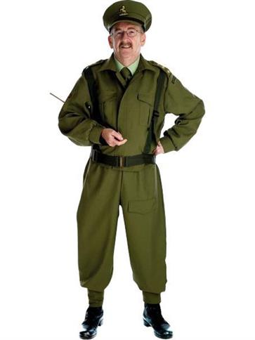 British Home Guard Officer - Adult Costume front
