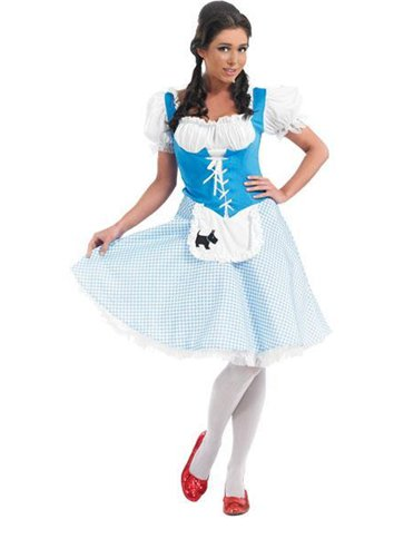 Dorothy Long Length - Adult Costume front