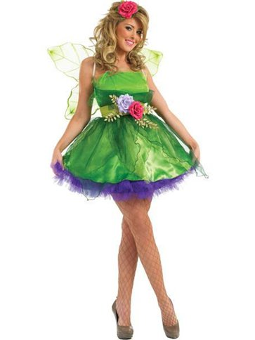 Fairy Nymph - Adult Costume front