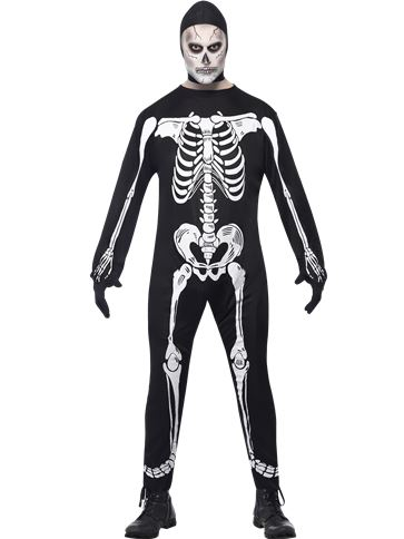 Skeleton - Adult Costume front