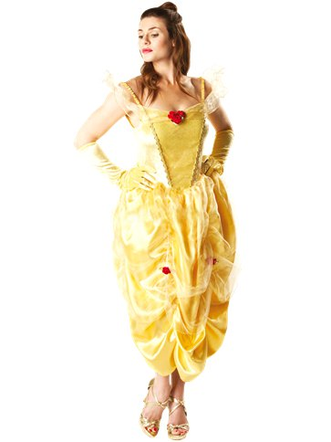 Disney Belle - Adult Costume front