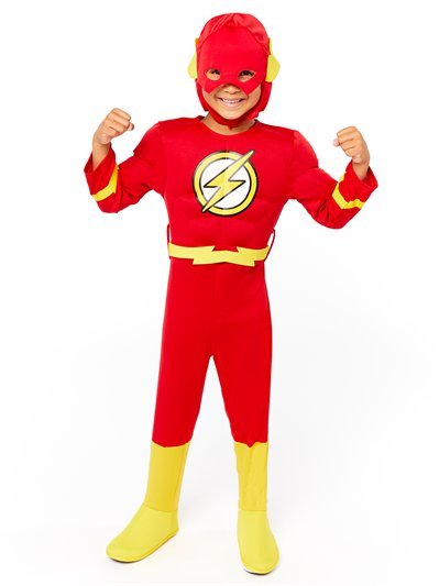 The Flash Deluxe Muscle Chest - Child Costume